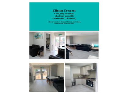 6 Bed Terraced House, Clinton Crescent, IG6