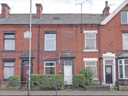 3 Bed Terraced House, Halifax Road, OL16
