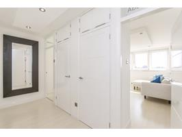 Extremely Large Hallway Fitted Cupboards