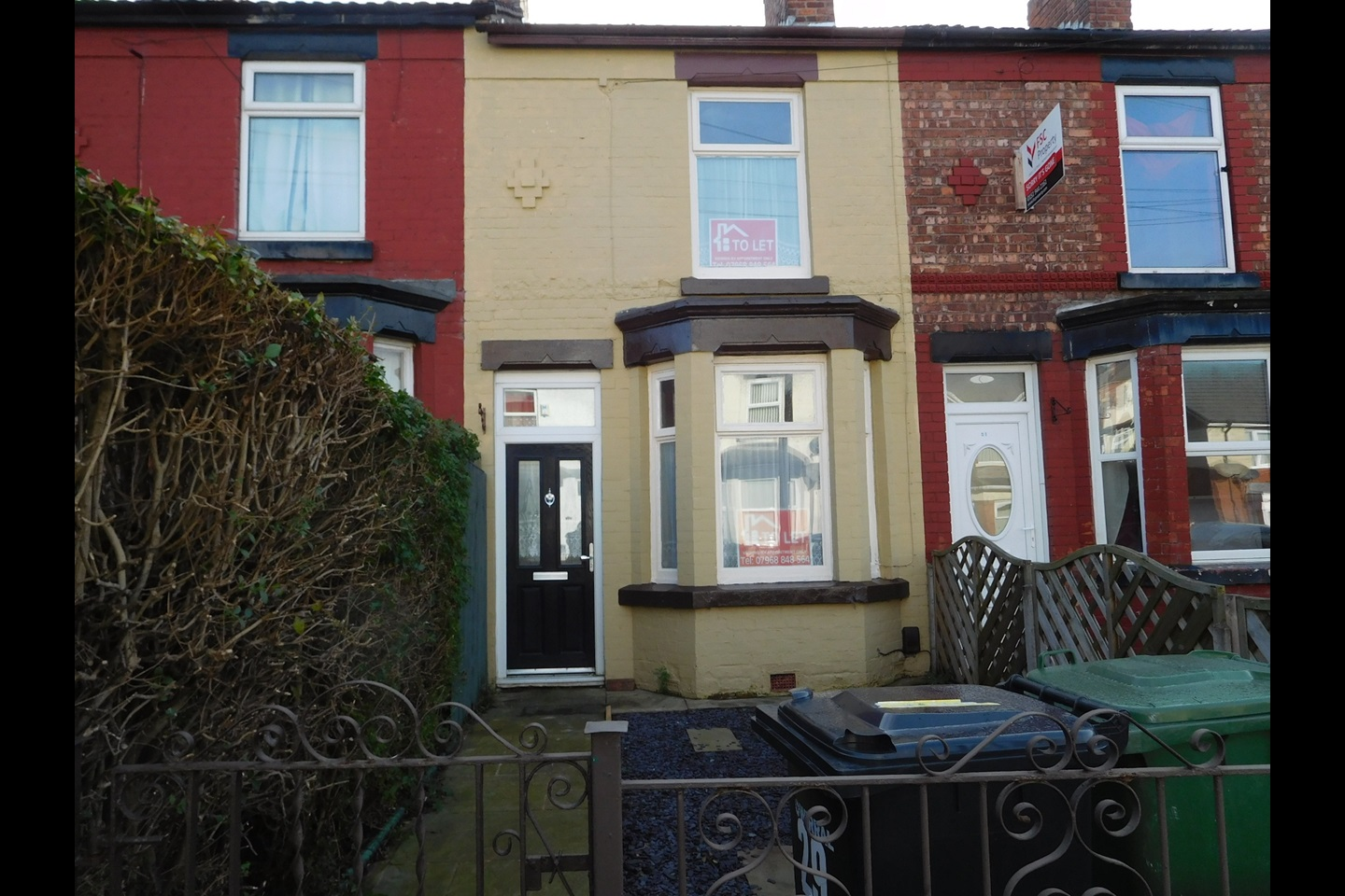 Birkenhead 2 Bed Terraced House Maybank Road Ch42 To