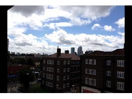 View Of Canary Wharf From Balcony