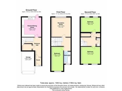 3 Bed Terraced House, Montague Square, SE15