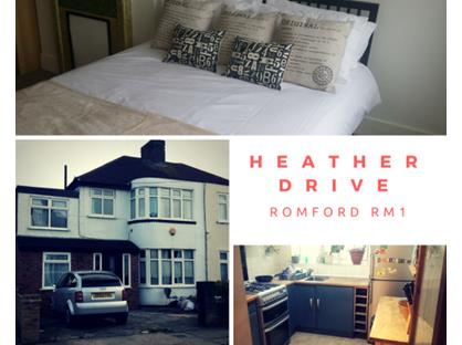 Room in a Shared House, Heather Drive, RM1