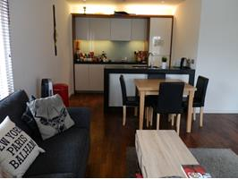 Balham 2 bed flat blueprint apartments sw12 to rent now for open plan living area malvernweather Gallery
