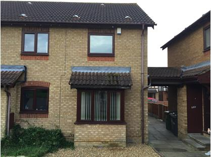 2 Bed End Terrace, Cookson Close, PE7
