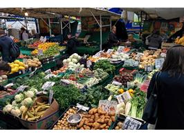 Vegetable Stall On Lewisham High Street