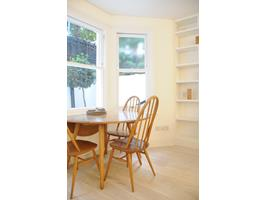 Ercol Dining Table & Front Patio