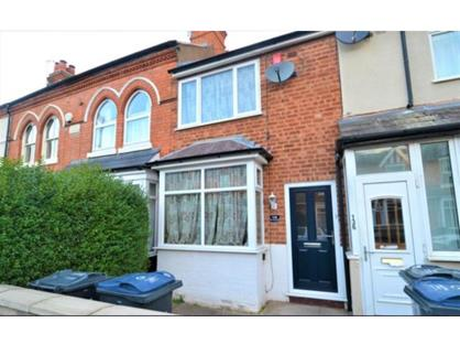 3 Bed Terraced House, Grange Road, B14