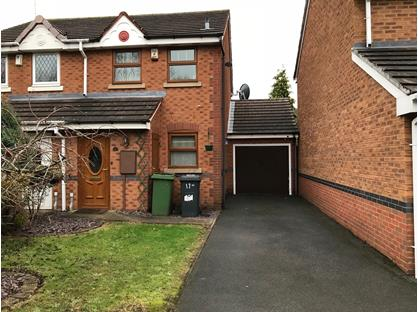 2 Bed Semi-Detached House, Coltsfoot Close, WV11