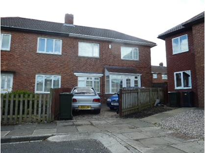 2 Bed Semi-Detached House, Devonshire Drive, NE27