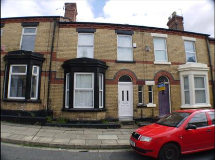 3 Bed Terraced House, Burdett Street, L17