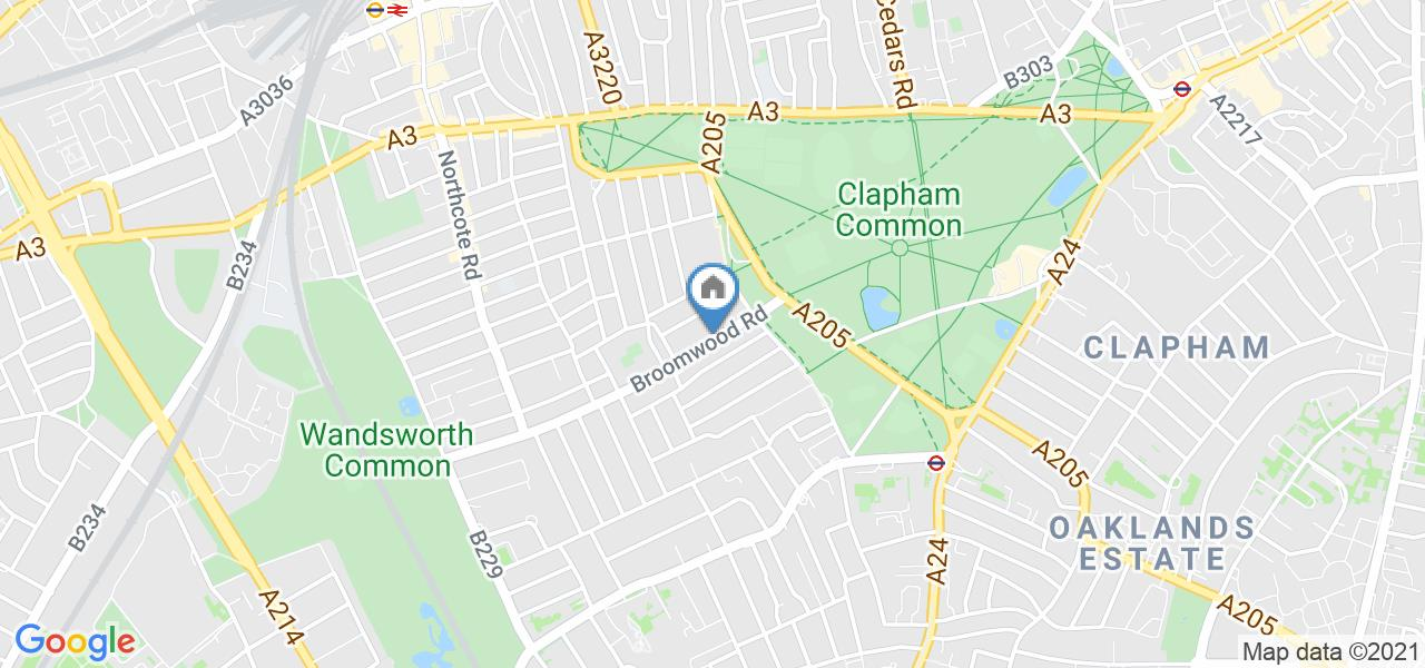 Room in a Shared House, Broomwood Road, SW11