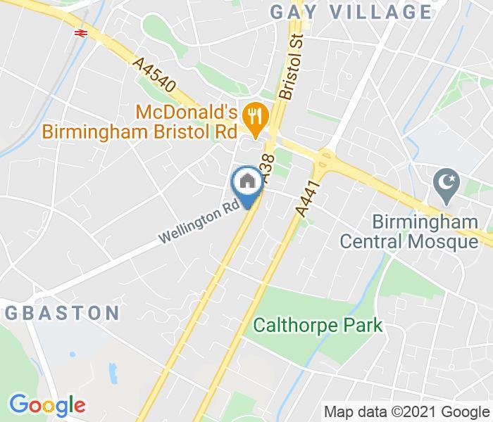 Studio Flat, Birmingham, B5