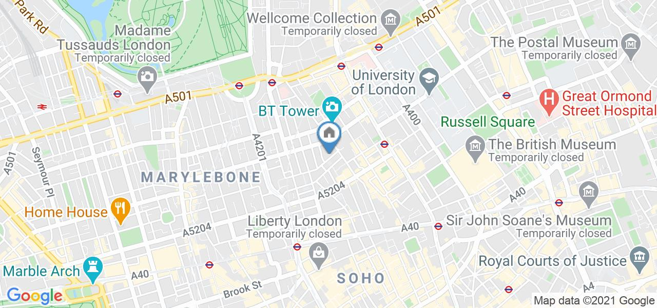 Room in a Shared House, Foley Street, W1W