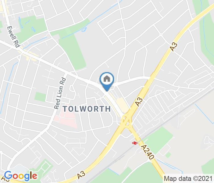 Room in a Shared House, Tolworth Broadway, KT6