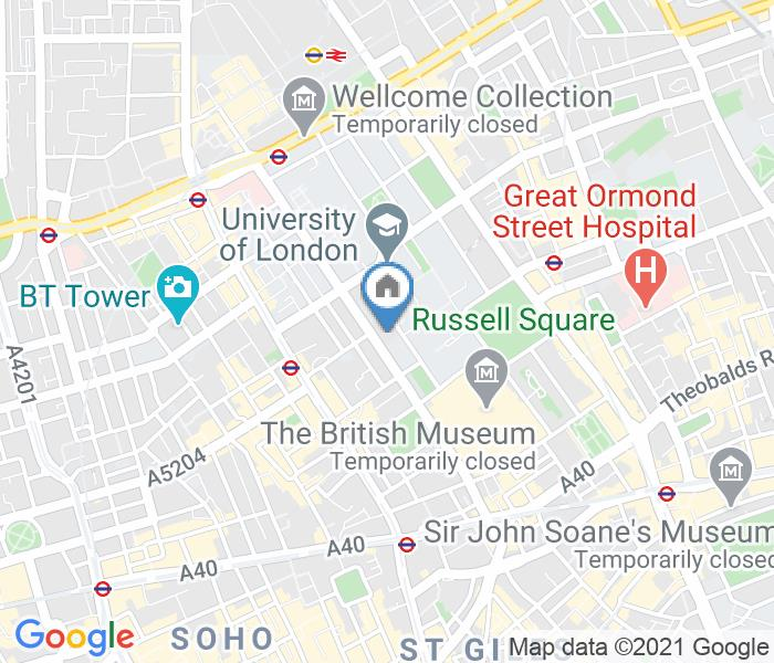 Room in a Shared House, Gower Street, WC1E