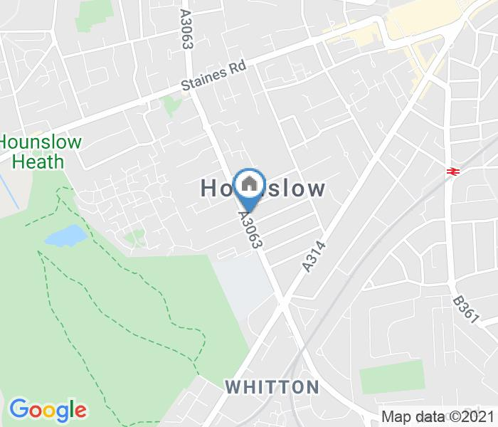 Room in a Shared House, Wellington Road South, TW4