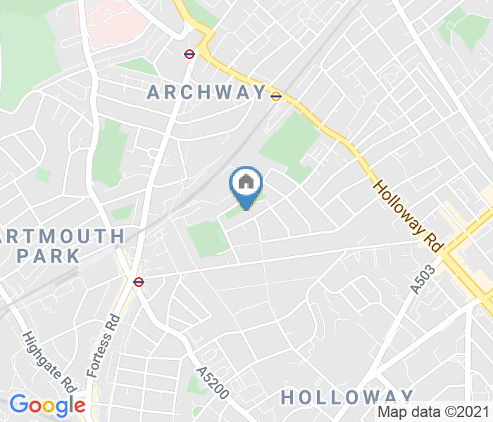 Room in a Shared House, Tytherton Road, N19