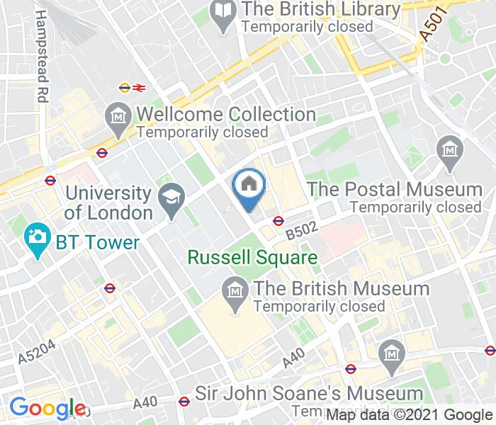 1 Bed Flat, Russell Court, WC1H