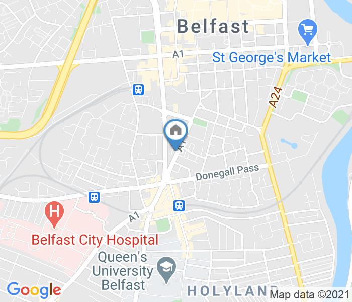 1 Bed Flat, Dublin Road, BT2