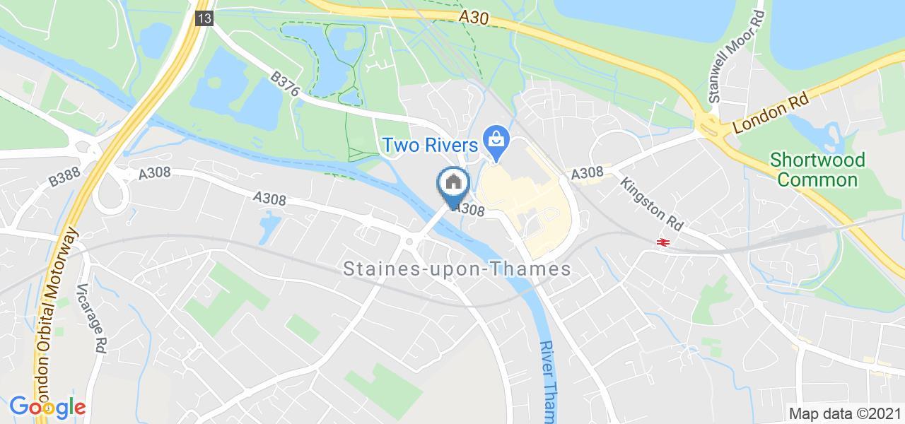 1 Bed Flat, Thames Edge Court, TW18