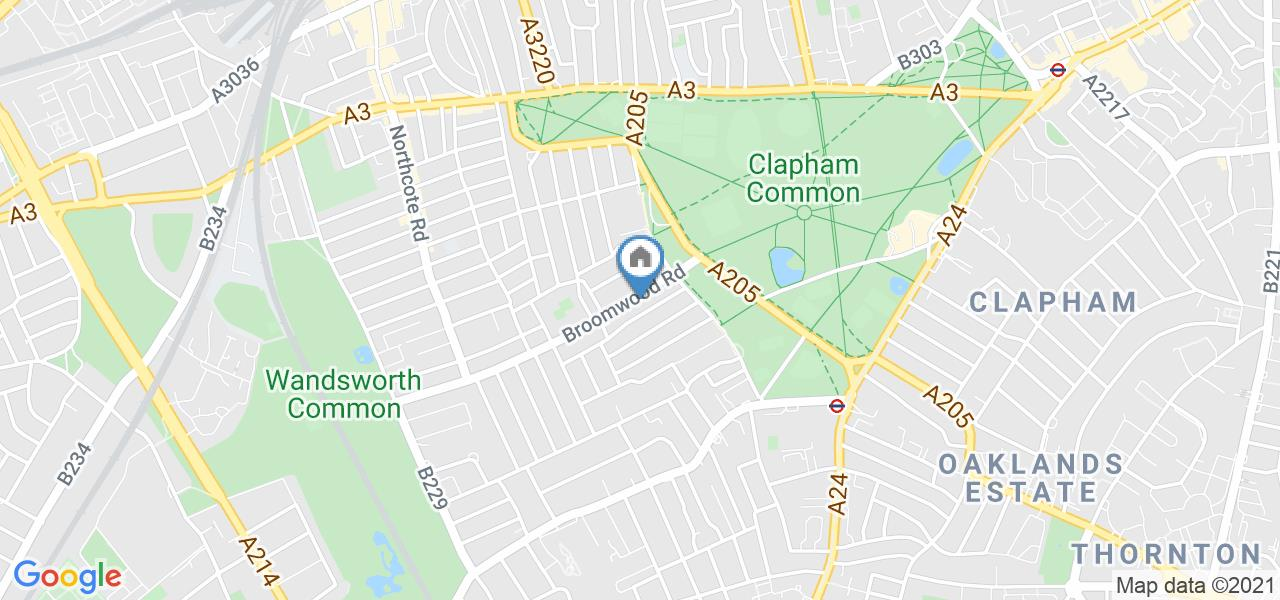 Room in a Shared Flat, Broomwood Road, SW11