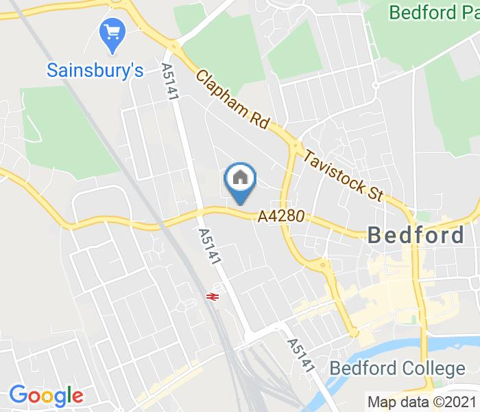 1 Bed Flat, Charter House 59-61 Bromham Road, MK40