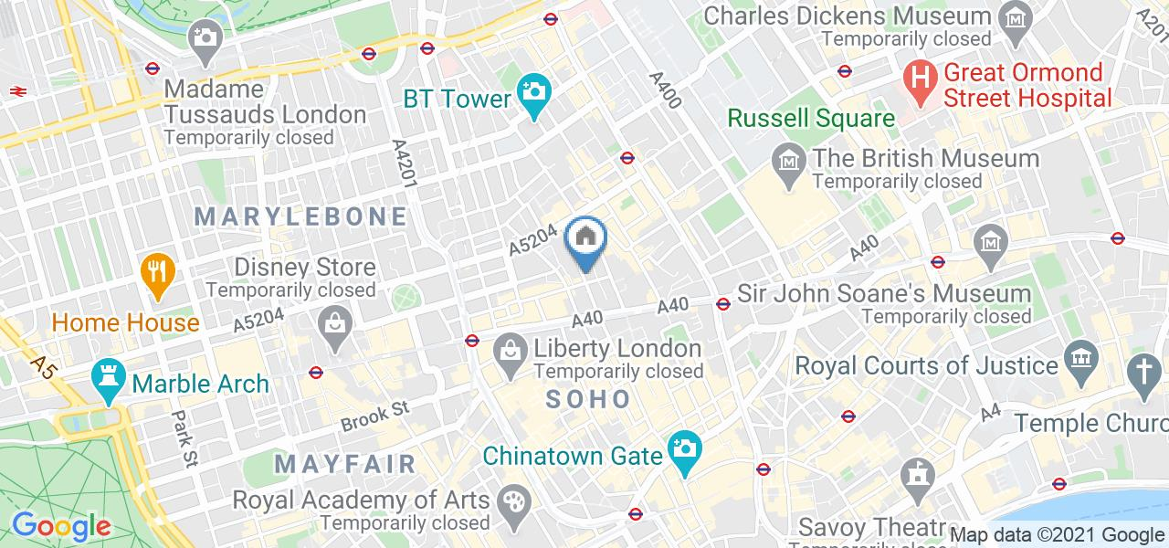 Room in a Shared Flat, Berners St, W1T
