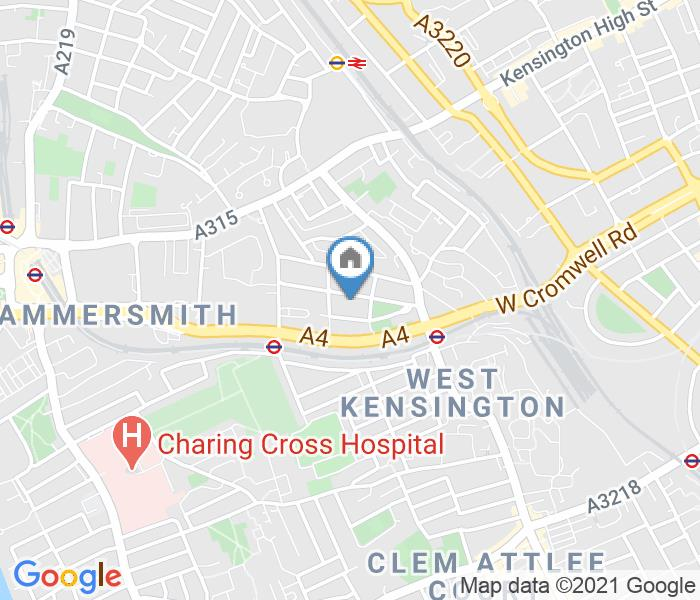 Room in a Shared House, Gunterstone Road, W14