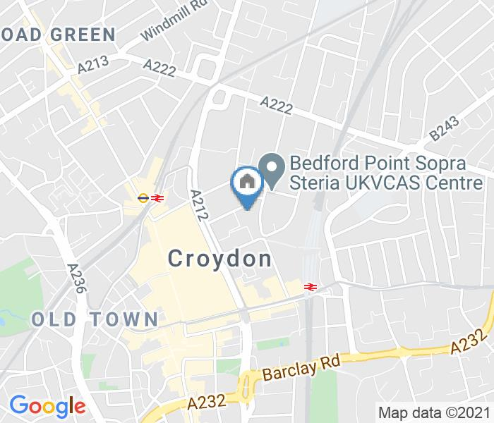 Studio Flat, Cygnet House Sydenham Road, CR0