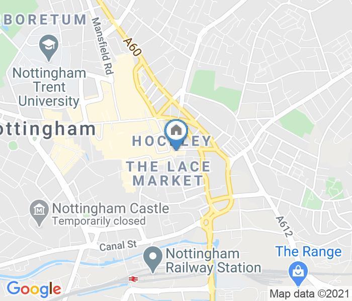 1 Bed Flat, Nottingham City, NG1