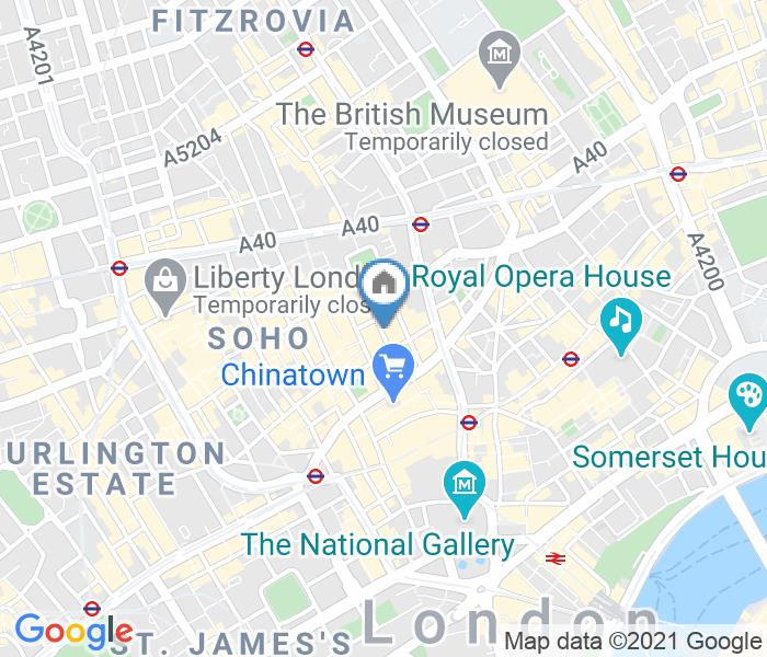 2 Bed Penthouse, Frith Street, W1D