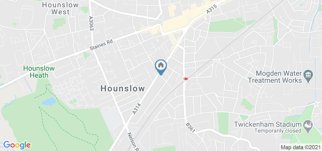 Room in a Shared House, Rowen Court, TW3