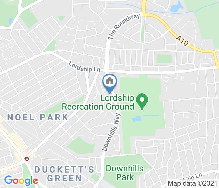 Room in a Shared House, Downhills Way, N17