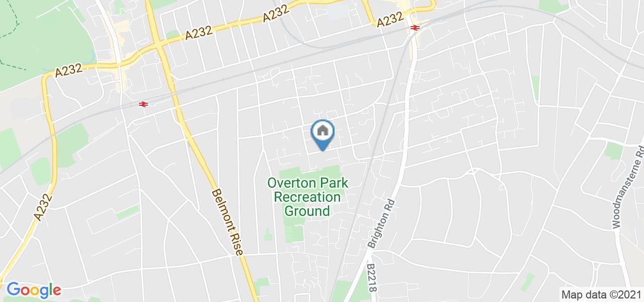 Studio Flat, Camborne Road, SM2