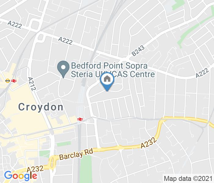 2 Bed Terraced House, Oval Road, CR0