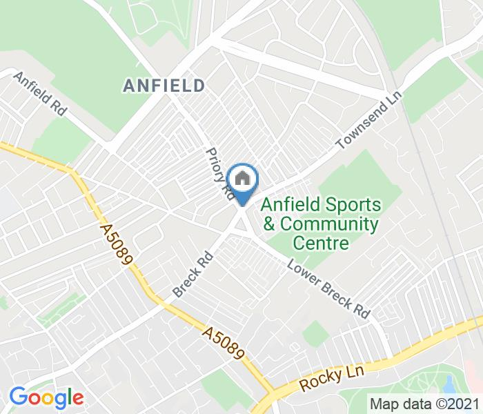 Room in a Shared Flat, Anfield, L4