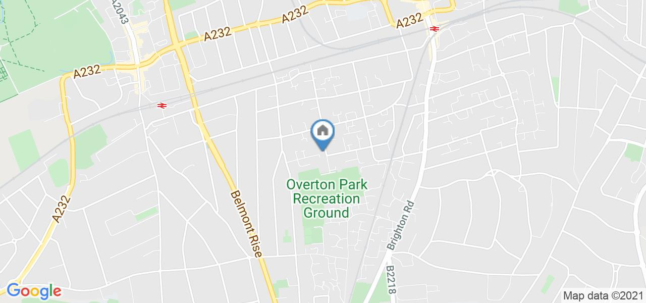 1 Bed Flat, Overton Road, SM2