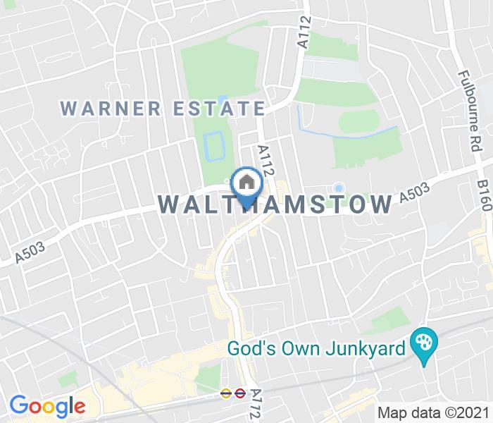 1 Bed Semi-Detached House, Hawthorne Road, E17