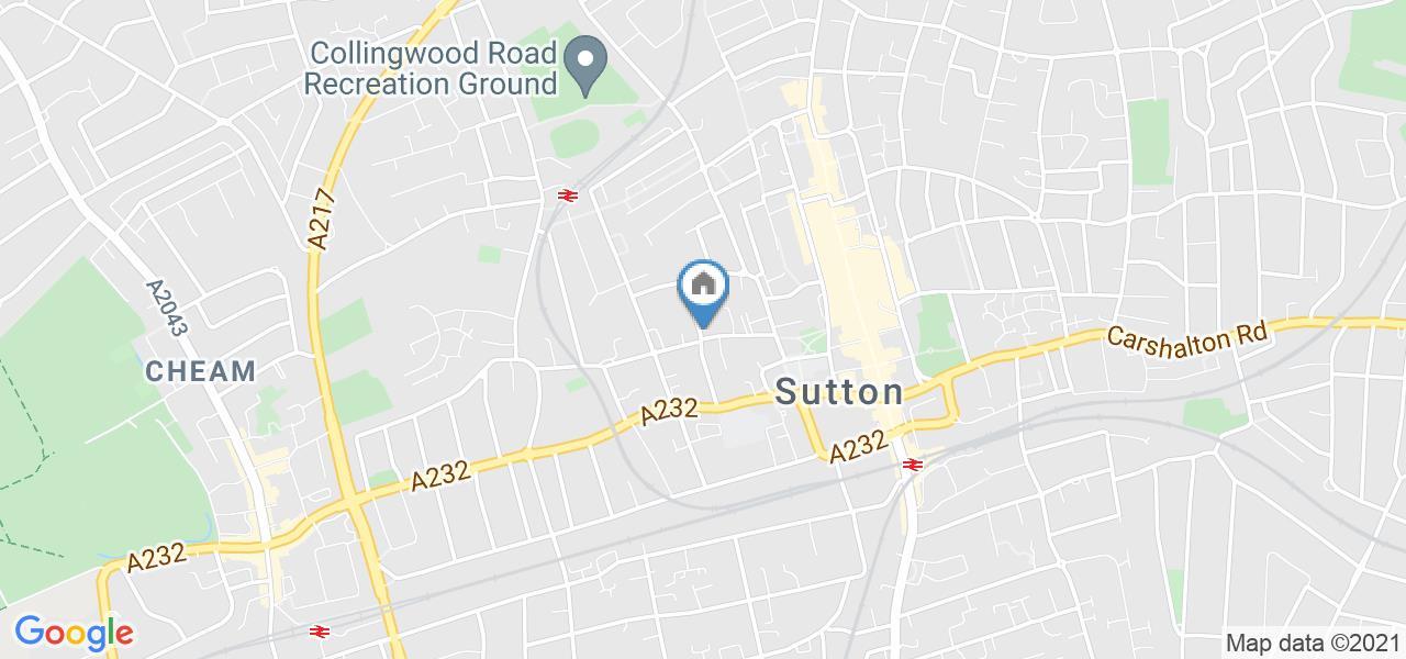 2 Bed Flat, Sherwood Park Road, SM1