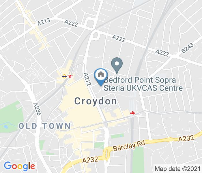 1 Bed Flat, Canterbury House, CR0