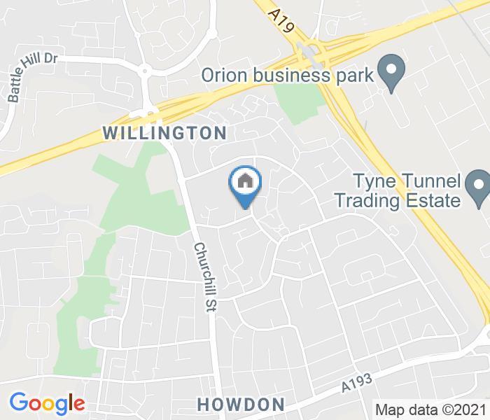 Studio Flat, Perth Gardens, NE28