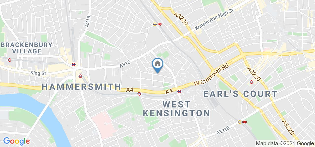 2 Bed Semi-Detached House, Edith Road, W14