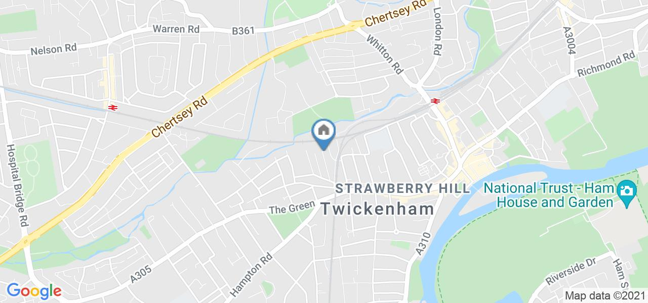 1 Bed Flat, Athelstan Place, TW2
