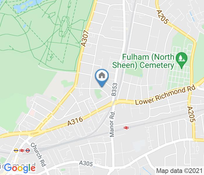3 Bed Terraced House, Windham Road, TW9