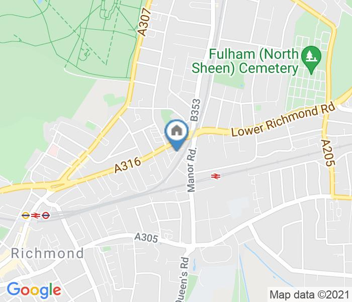 2 Bed Terraced House, St. Georges Road, TW9