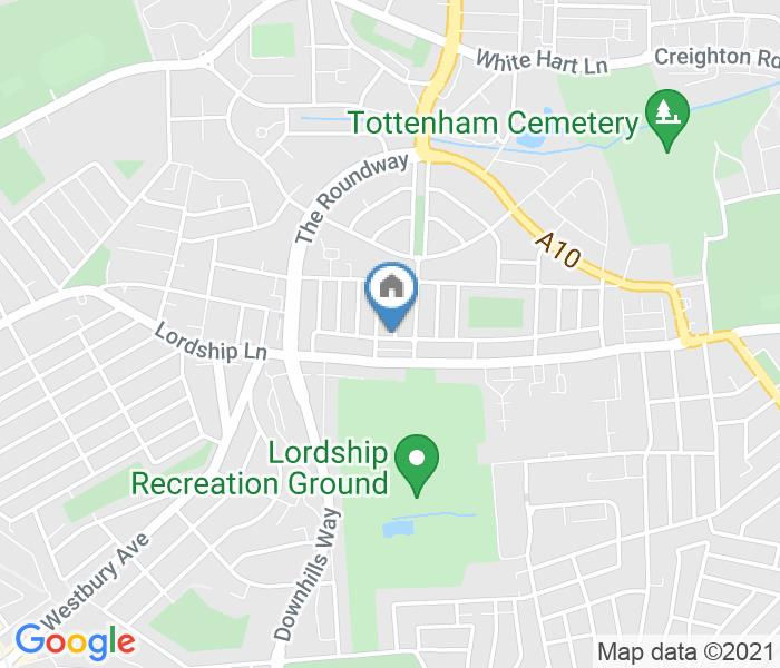 3 Bed End Terrace, Tower Gardens Road, N17