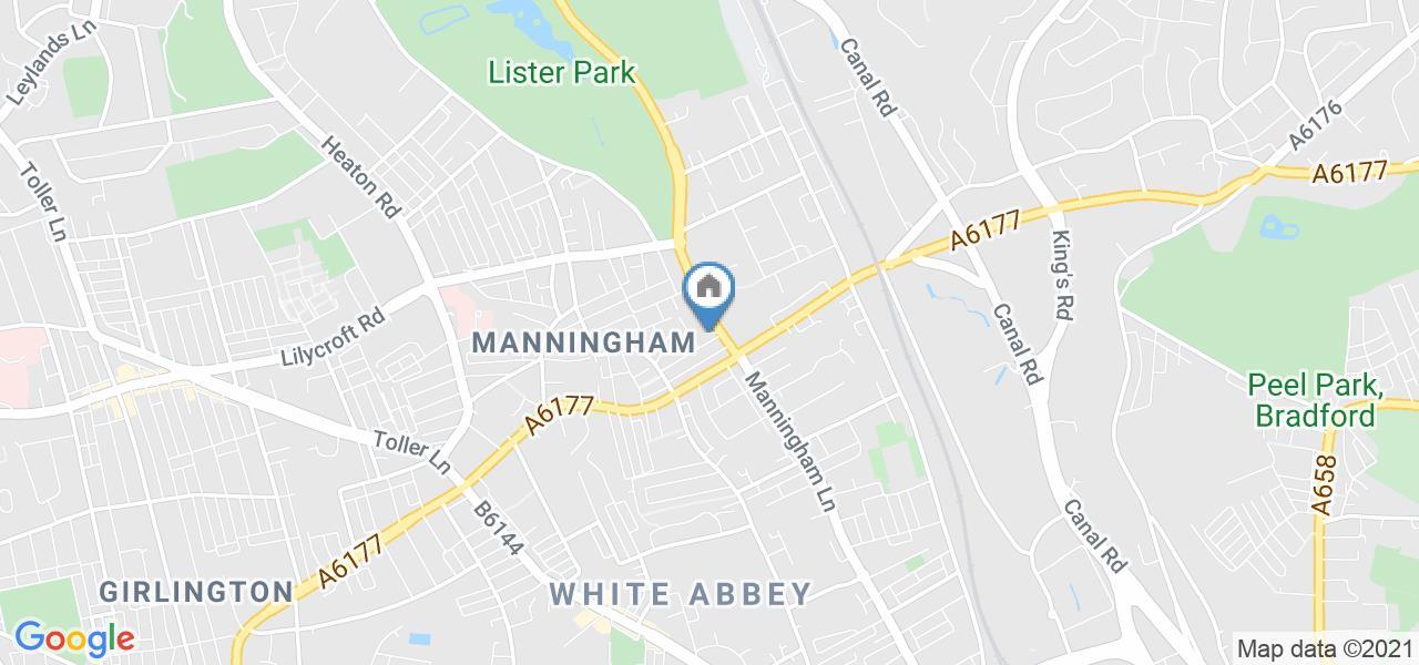 Studio Flat, Manningham Lane, BD8