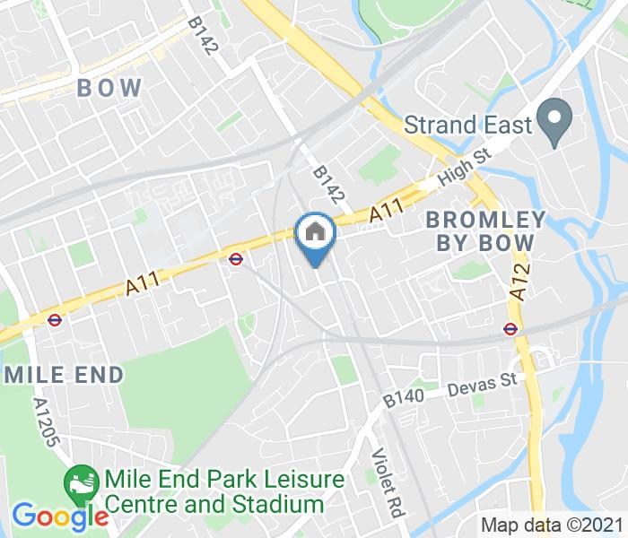 1 Bed Flat, Campbell Rd, E3