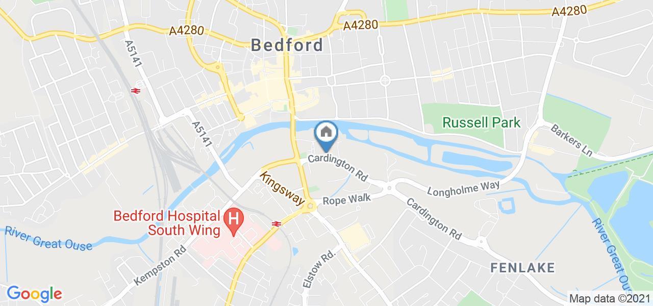 1 Bed Flat, Avleen House 26-30 Cardington Road, MK42